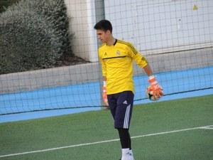 Joan Carles Pérez Castro en el Real Madrid C.F